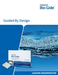 Geistlich Bio-Gide® Product Information