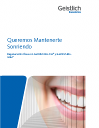 Patient Brochure – Bone Regeneration: Spanish