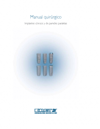 Manual quirurgico para implantes Biomet3i