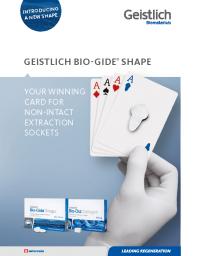 Geistlich Bio-Gide® Shape Flyer